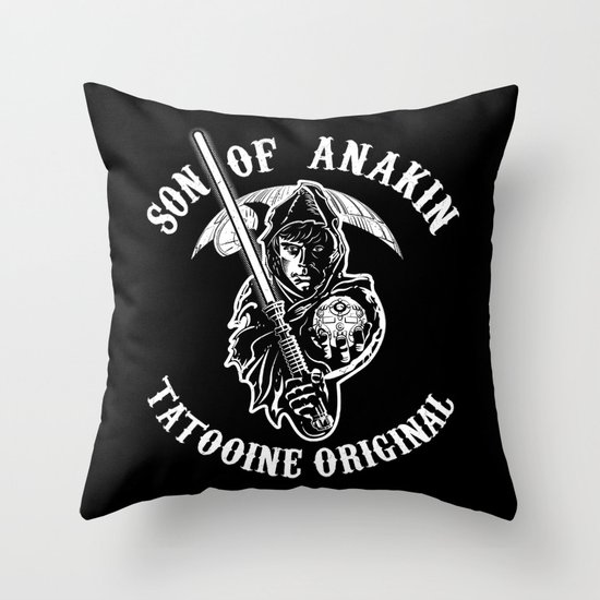 Son of Anakin Throw Pillow
