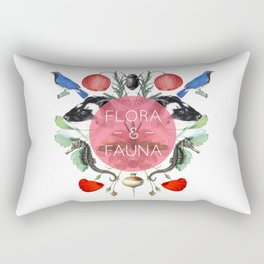 Flora & Fauna Rectangular Pillow