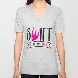 Swift Like My Mom Unisex V-Neck