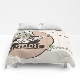 Ukelele Jiminy Comforters