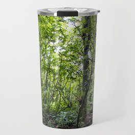 Hiking through the Rainforest on the side of the Mombacho Volcano in Nicaragua Travel Mug