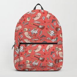 Grunge pattern Backpack