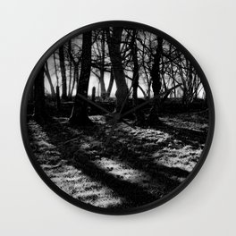 If You Go Down to the Woods Today... Wall Clock
