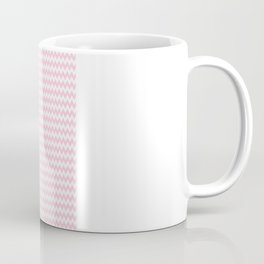 Pink Zigzag Design Coffee Mug