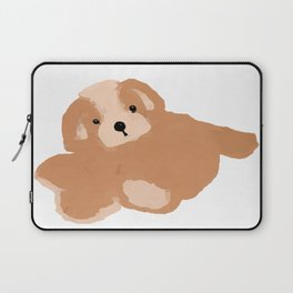 Soft Vector Puppy Laptop Sleeve