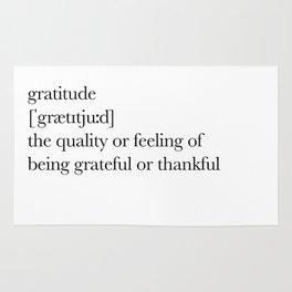 Gratitude Rug