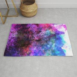 Purple Watercolor Rug
