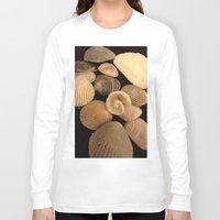 shells Long Sleeve T-shirts featuring Shells  by Josj