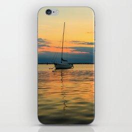 (Sailboats) At Bay iPhone Skin