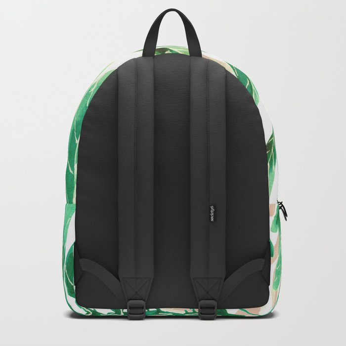 just leaves Backpack