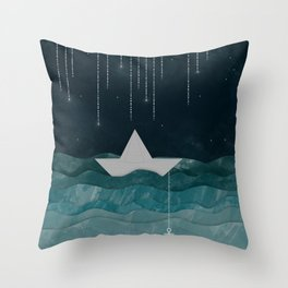 I refuse to sink Throw Pillow