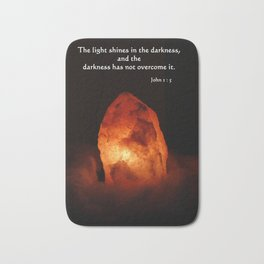 Light in the Darkness Bath Mat