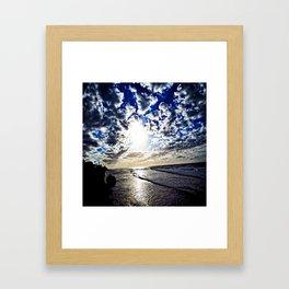 West Home Framed Art Print