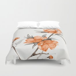 flowers / 65 Duvet Cover