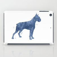 boxer iPad Cases featuring Boxer by Carma Zoe