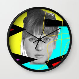 Woman N89 Wall Clock