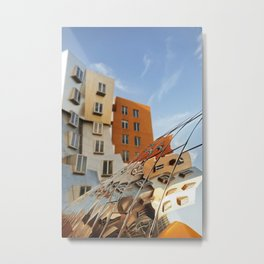 The Ray and Maria Stata Center Metal Print