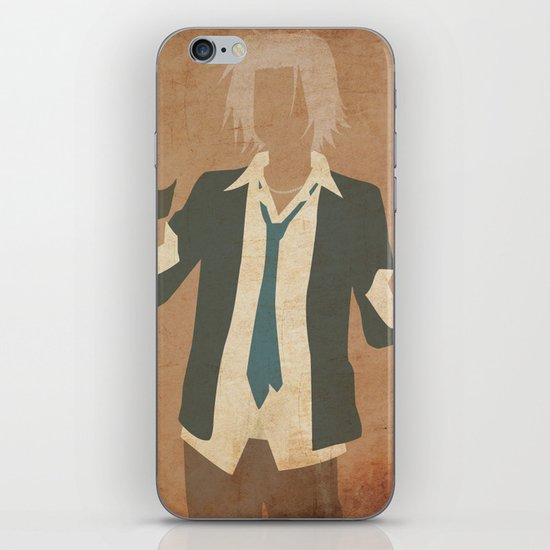 Gokudera iPhone & iPod Skin