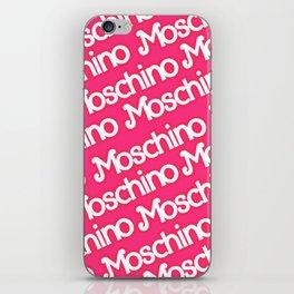 Moschino Everything iPhone Skin