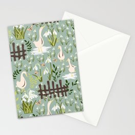 Beyond That Fence Stationery Cards