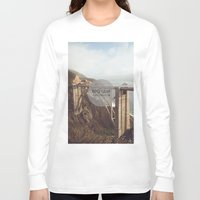 big sur Long Sleeve T-shirts featuring Big Sur by Chris Mongeau