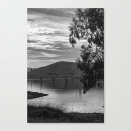 My Heart is Tuned to the Quietness Canvas Print