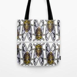 Amber Cicadas Tote Bag