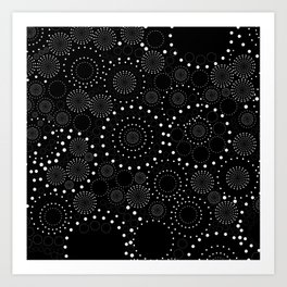 Seeing Spots and Dots! Art Print