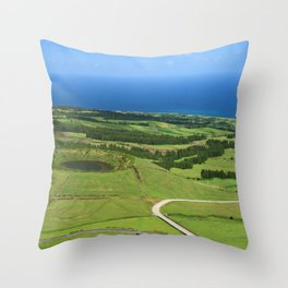 Sao Miguel, Azores Throw Pillow