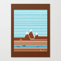 canada Canvas Prints featuring Canada. by Grant Pearce