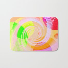 Re-Created Twisters No. 9 by Robert S. Lee Bath Mat