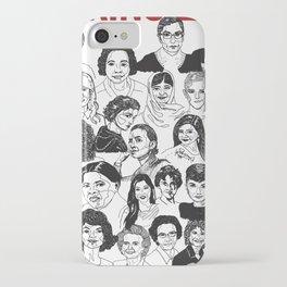 Inspiring Ladies iPhone Case