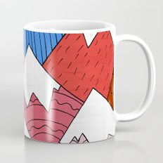 The Red Mountains (Pattern) Mug