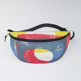 Basic in red, yellow and blue Fanny Pack
