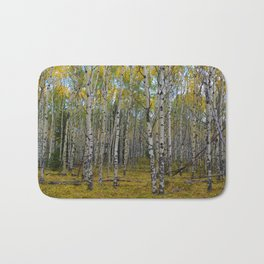 Trembling Aspen's in the Fall, Jasper National Park Bath Mat
