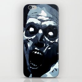 Hungry Zombie- Abstract Zombie Painting iPhone Skin