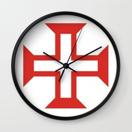 Cross of the Order of Christ (Cruz da Ordem de Cristo) Wall Clock