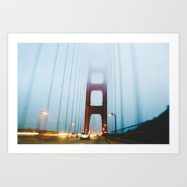 Slip through Art Print