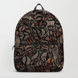 Vintage Coffee Delight Backpack