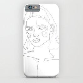 Cuteness Line iPhone Case