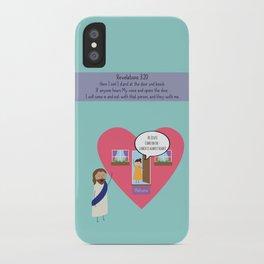 Hi Jesus iPhone Case