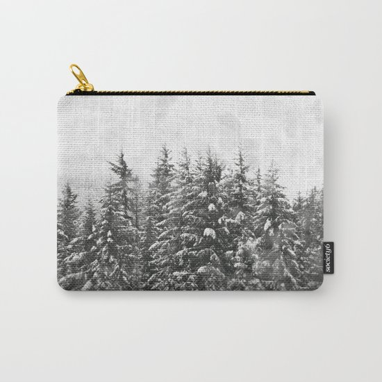 Winter Woods Carry-All Pouch