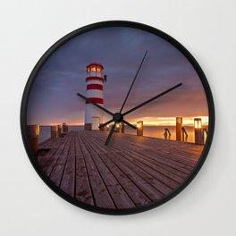 faro podersdorf Wall Clock