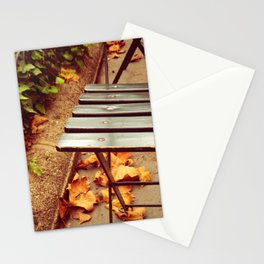 bryant park cafe chair Stationery Cards
