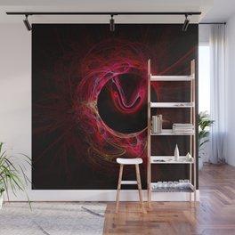 Flaming Blackhole Wall Mural