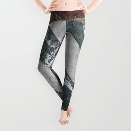 Marble Illusion Leggings