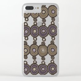 Little Circles Clear iPhone Case