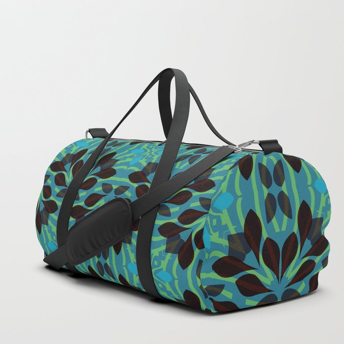 Leaf pattern 1a Duffle Bag