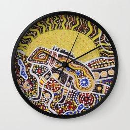 Water Dragon Totem Animal Wall Clock