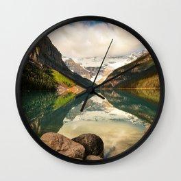 Symmetrical Lake Louise Wall Clock